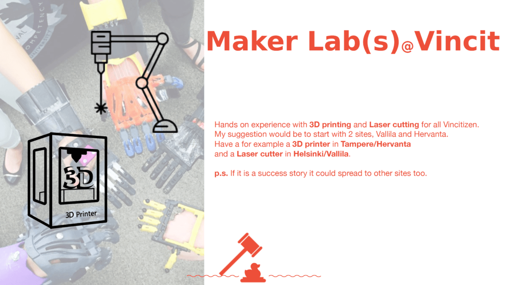 Maker Labs for Vincit